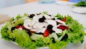 video huong dan che bien salad nam mo cho nguoi an kieng giam can