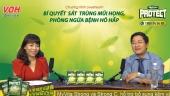 livestream bi quyet sat trung mui hong phong ngua benh ho hap