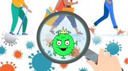 virus corona co the bam o de giay trong 5 ngay