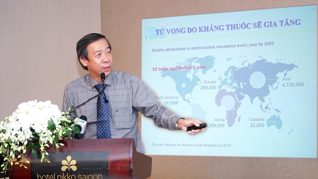 alobacsi TS.BS Nguyễn Vinh Châu - Chủ tịch Liên chi hội Truyền nhiễm TPHCM