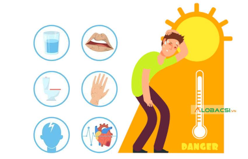 alobacsi không uổng đủ nước có thể dẫn đến nhiều vấn đề sức khỏe