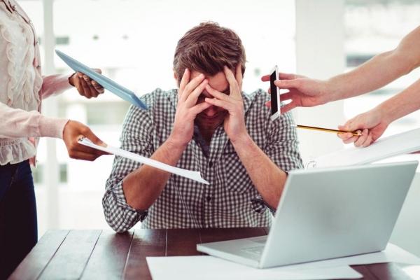 căng thẳng công việc