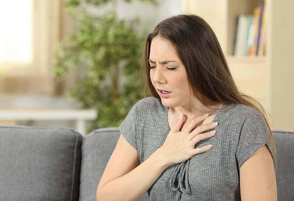 triệu chứng Ung thư vú di căn phổi