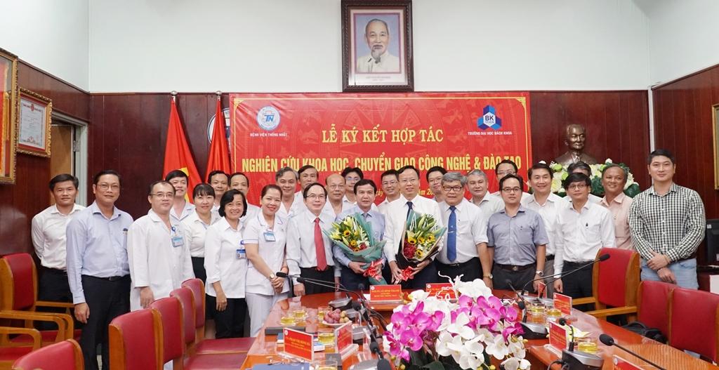 Trường ĐH Bách khoa kí kết bệnh viện Thống Nhất