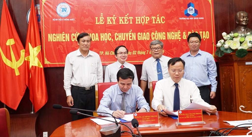 Lễ kí kết hợp tác giữa Bệnh viện Thống Nhất và ĐH Bách khoa TPHCM