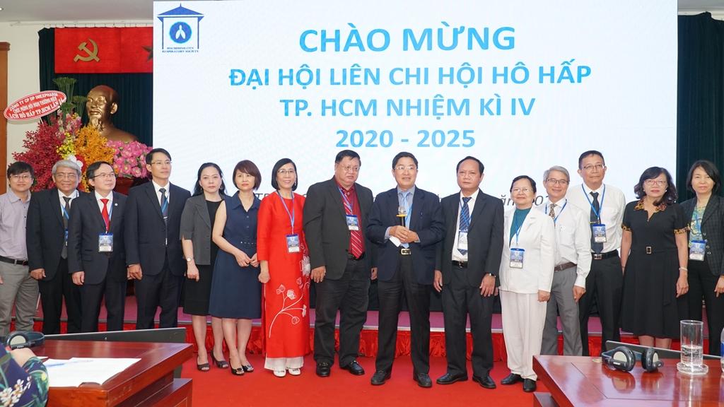 an chấp hành của Liên chi hội Hô hấp TPHCM, nhiệm kỳ 2020 - 2025